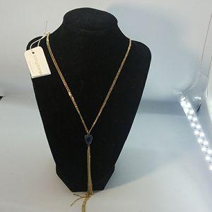 Necklace by Sonya Renee periwinkle blue